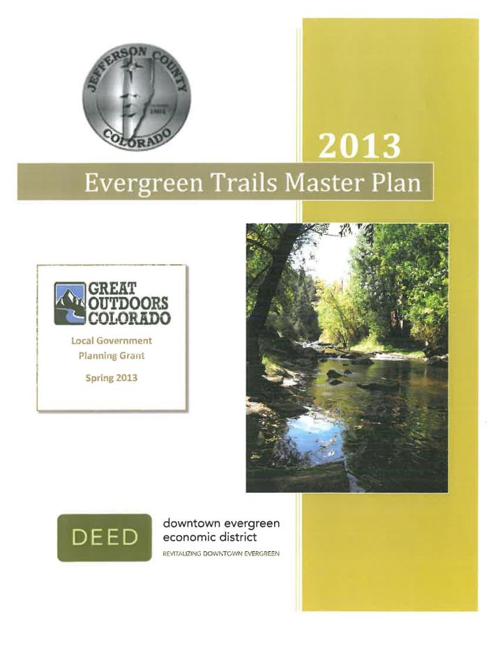 Evergreen Trails Master Plan  GOCO Planning Grant Application FINAL Page 001