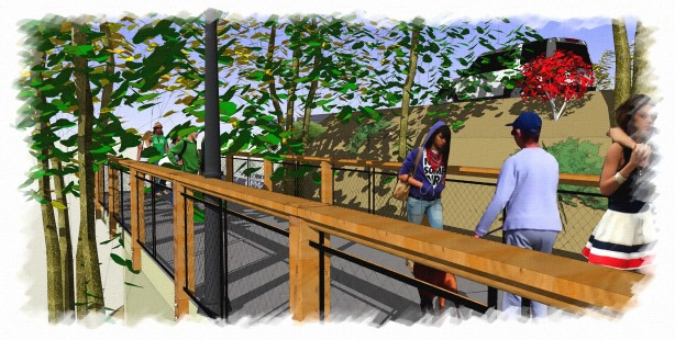 Evergreen Lake Elevated Trail 2