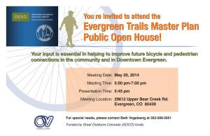 Evergreen Postcard Invite